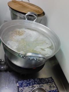 蕎麦うち体験