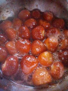 苺ジャム作り