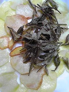 お茶の天ぷら