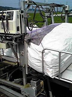 茶摘みの機械